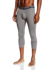 nike men pro 3 quarter compression tights
