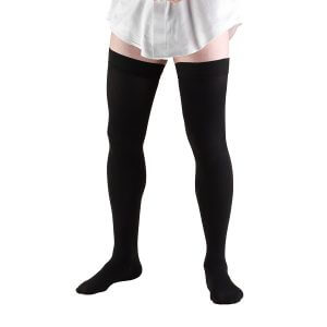 Bauer black precision support surgical pantyhose
