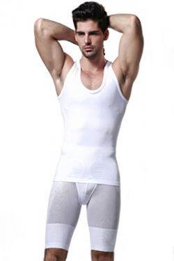 GKVK Men's Slimming Body Shaper Shirt