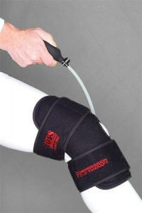 O2 Cold Therapy Knee Brace and Air Compression Wrap