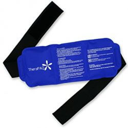 TheraPAQ Reusable Ice Pack with Strap - Hot & Cold Therapy
